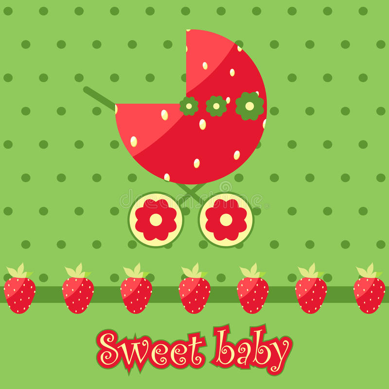 Bebé dulce ilustración del vector