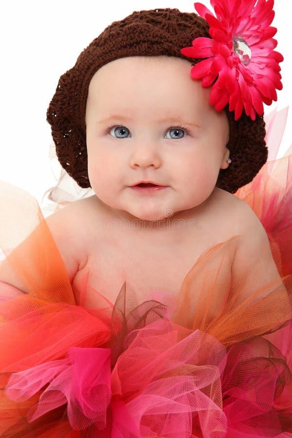 Bebé en tutú fotografía de archivo