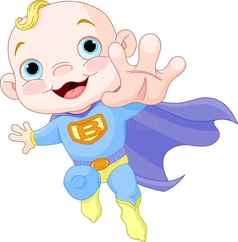Bebé estupendo stock de ilustración