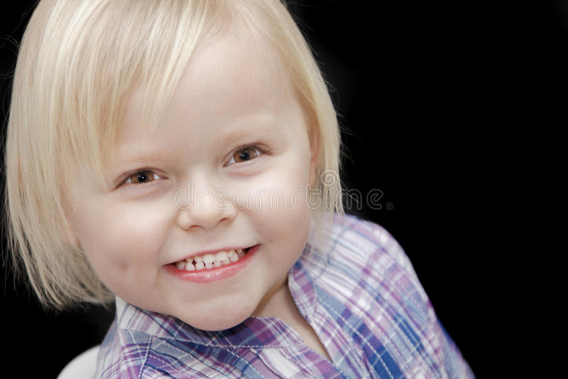 Bebé feliz imagem de stock royalty free