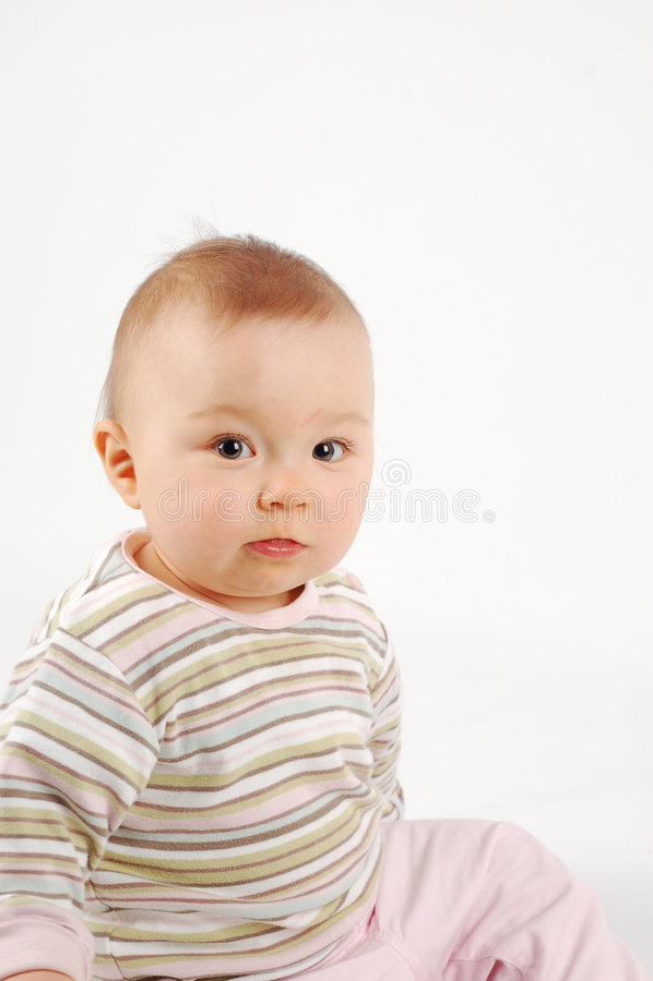 Bebé feliz #25 fotografía de archivo