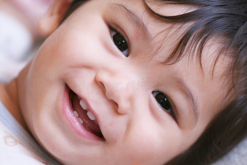 Bebé feliz 4 imagem de stock royalty free
