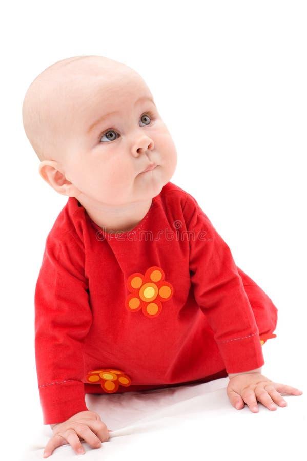 Bebé feliz bonito imagens de stock royalty free