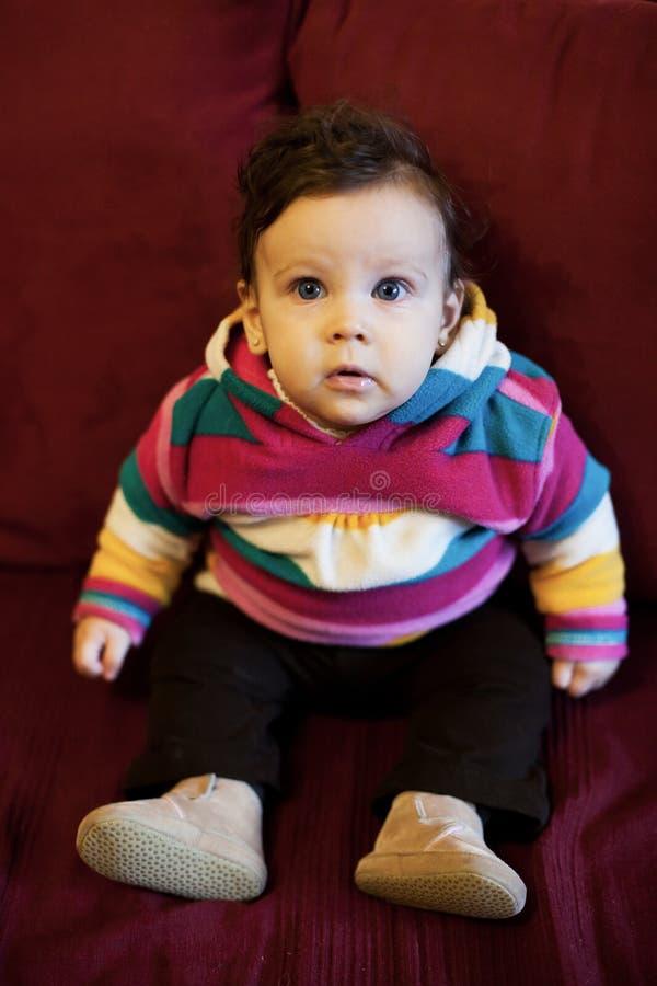 Bebé girl imagen de archivo libre de regalías