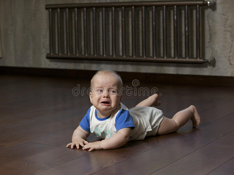 Bebé gritador imágenes de archivo libres de regalías
