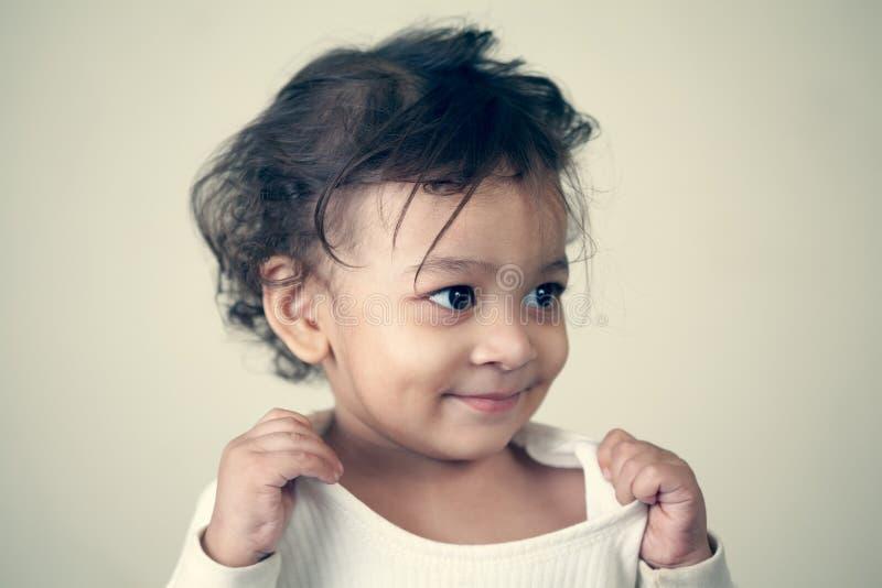 Bebé indio foto de archivo