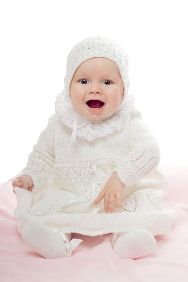 Bebé juguetón imagenes de archivo