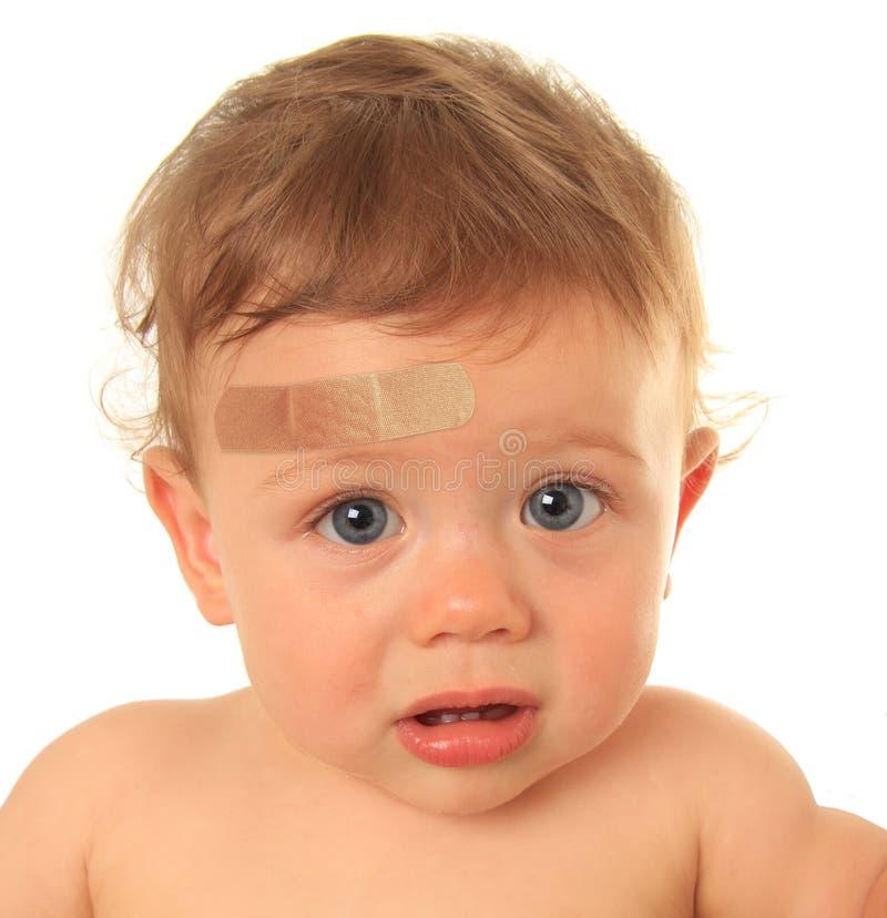 Bebé lastimado fotos de archivo