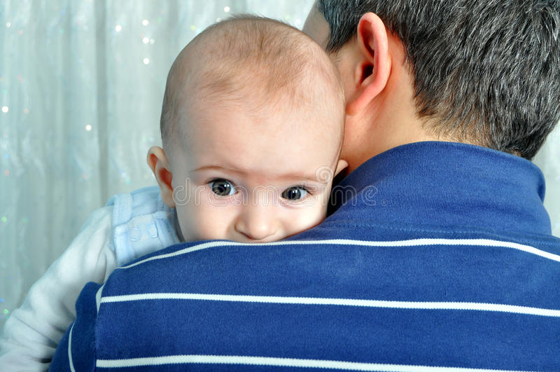 Beb? lindo imagen de archivo libre de regalías