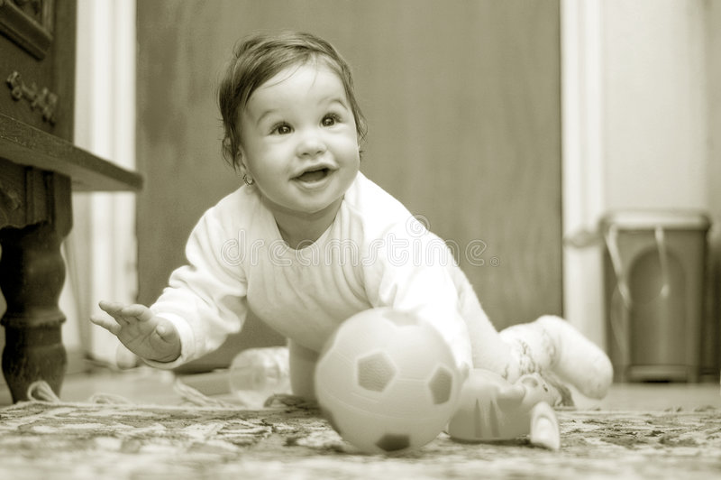Bebé Maria #75 imagen de archivo