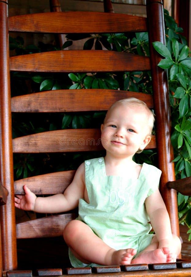 Bebé no patamar fotos de stock