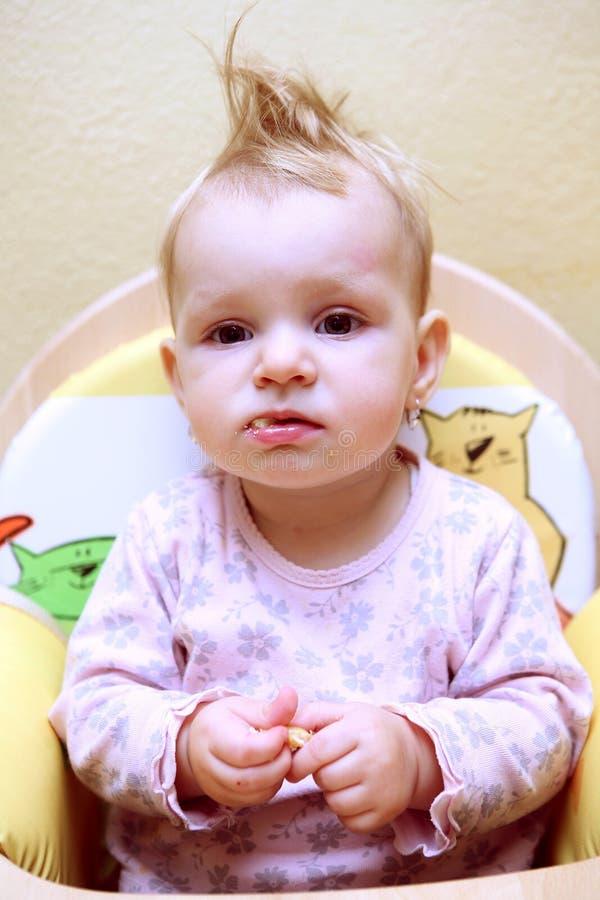 Bebé pequeno imagem de stock