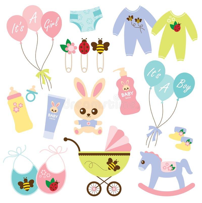 Bebé Products3 ilustración del vector