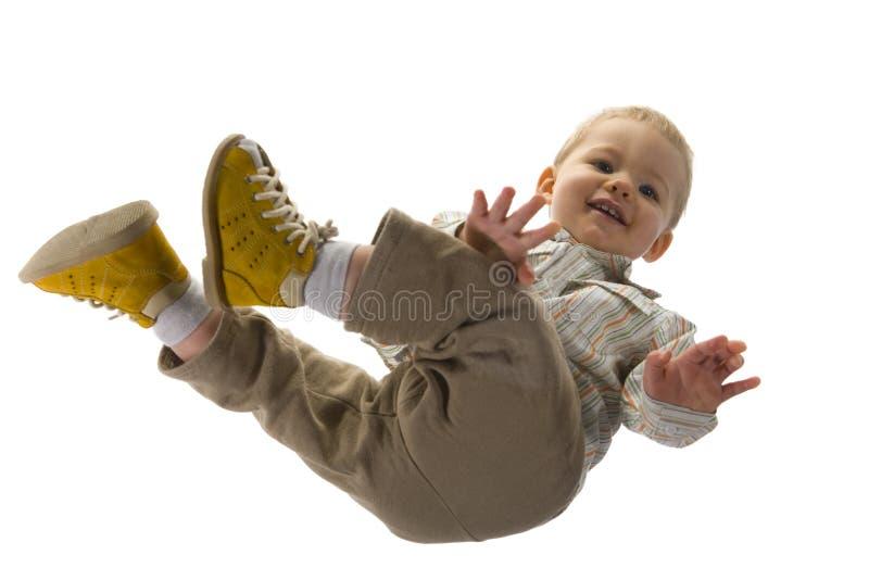 Bebé que se sienta fotografía de archivo libre de regalías