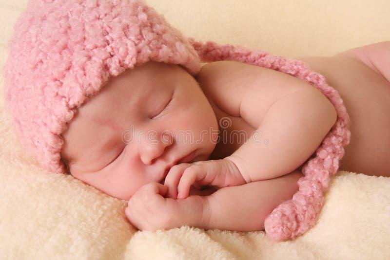 Bebé recién nacido foto de archivo libre de regalías