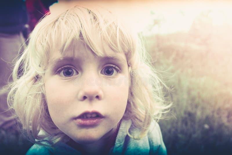 Bebé rubio imágenes de archivo libres de regalías
