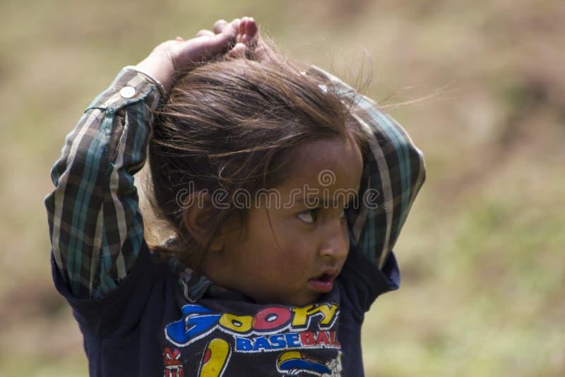 Bebé sin hogar imágenes de archivo libres de regalías