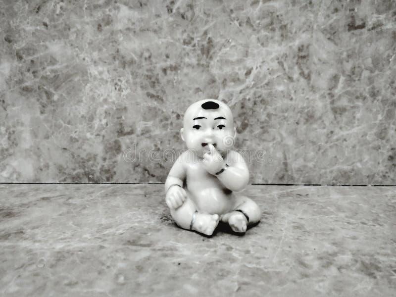 Bebé sincero aman9932 del juguete inocente foto de archivo