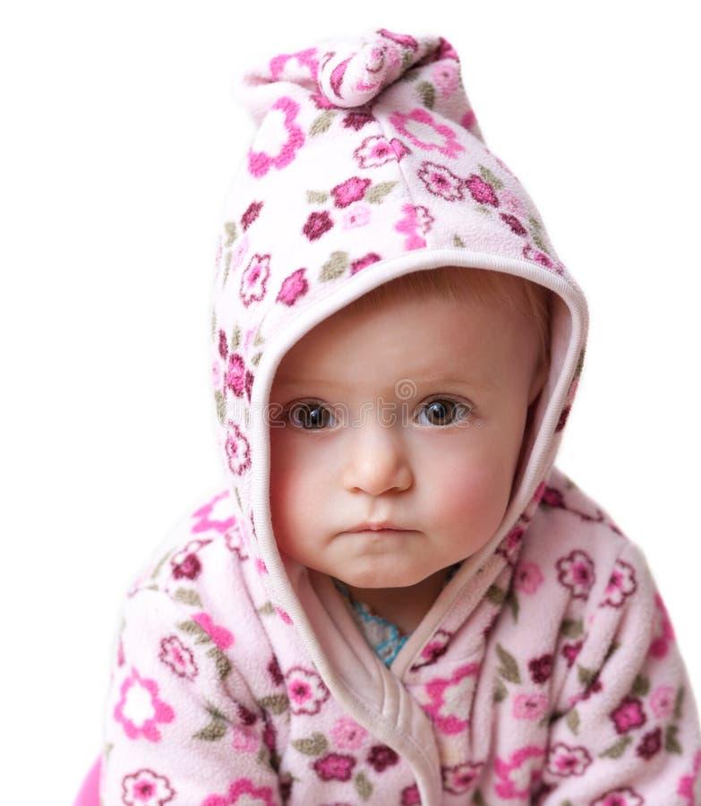 Download Bebé triste imagem de stock. Imagem de branco, bebê, cor - 26517275