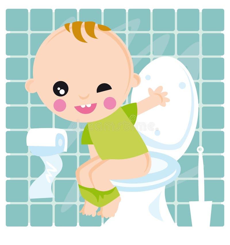 Bebê ilustração royalty free