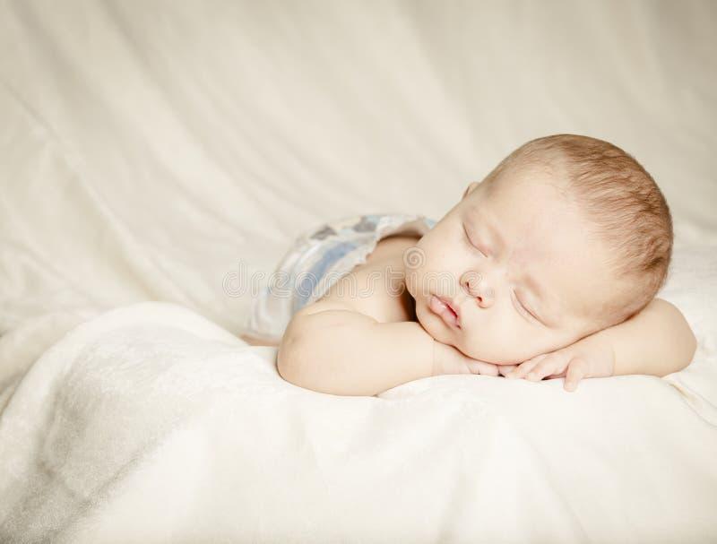 Bebê adormecido fotografia de stock royalty free