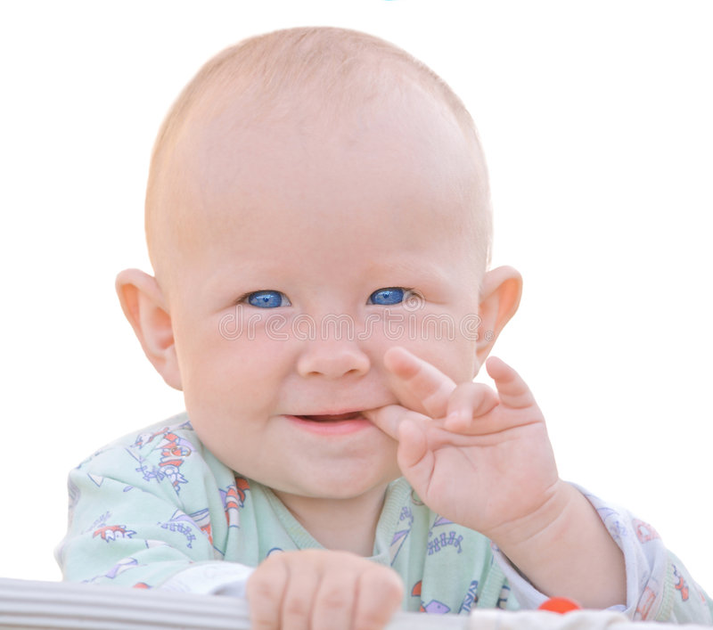 Bebê Amusing imagens de stock royalty free