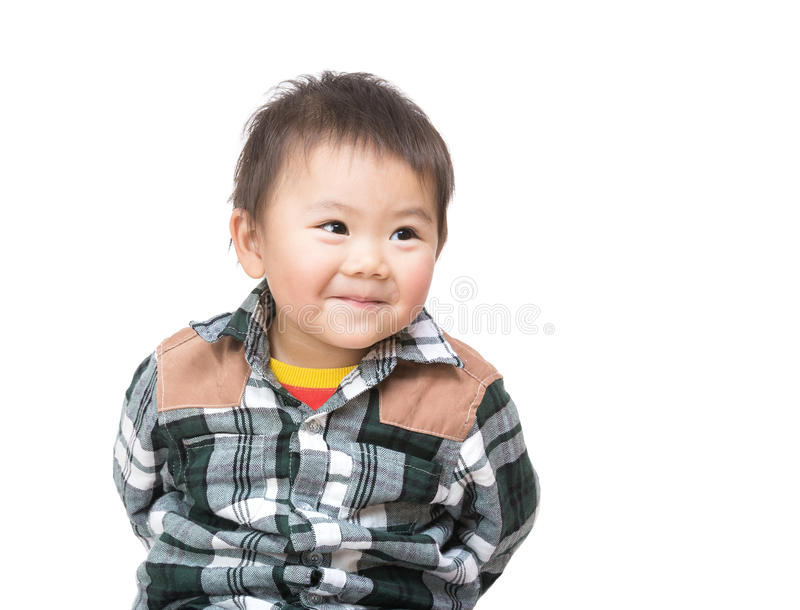 Bebê asiático doce imagem de stock royalty free