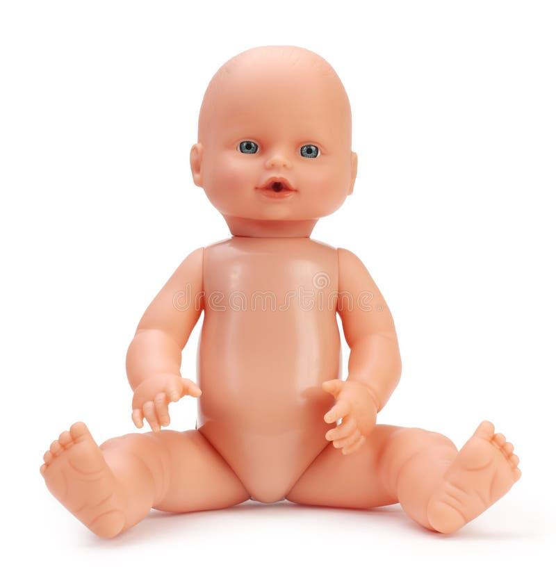 Bebê - boneca imagens de stock royalty free