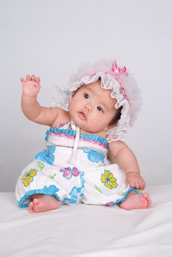 Bebê bonito fotografia de stock royalty free