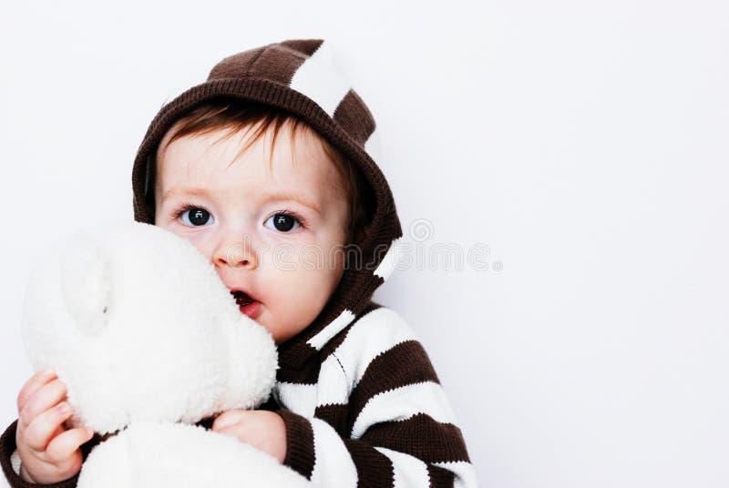 Bebê bonito fotografia de stock