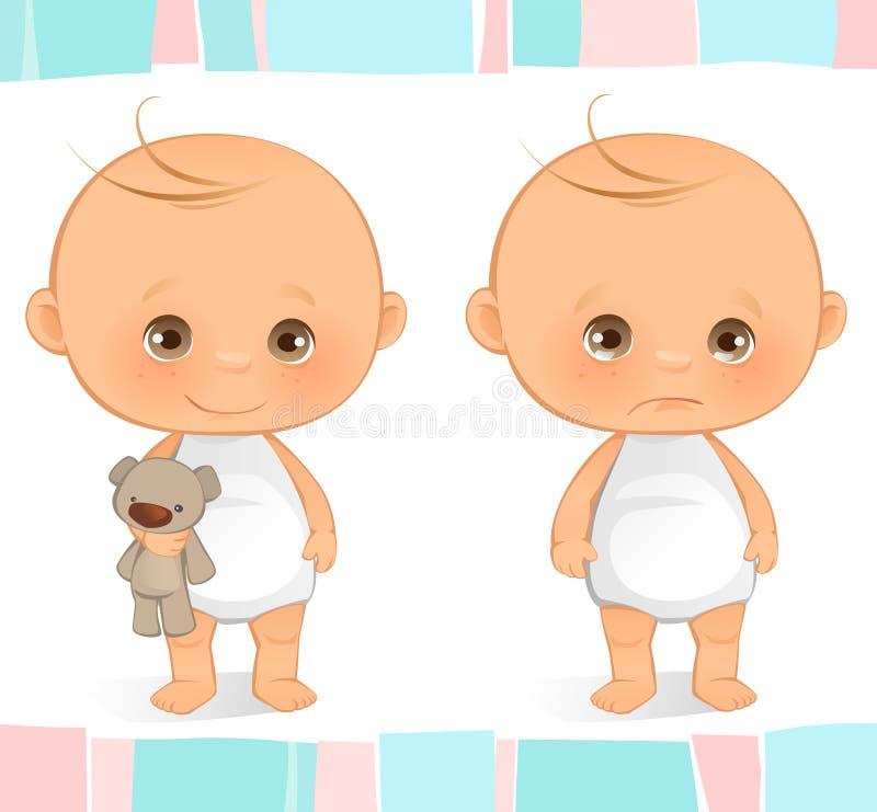Bebê bonito ilustração stock