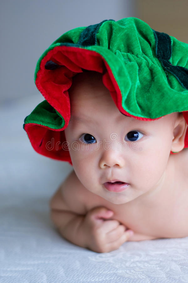 bebê chinês foto de stock royalty free