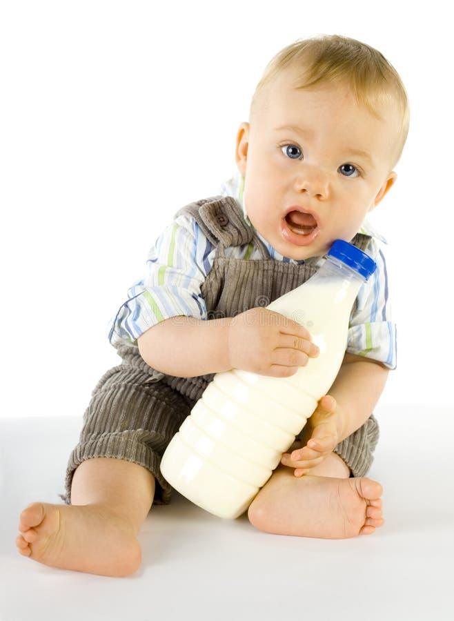 Bebê confuso imagem de stock