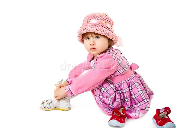 Bebê da beleza fotografia de stock royalty free