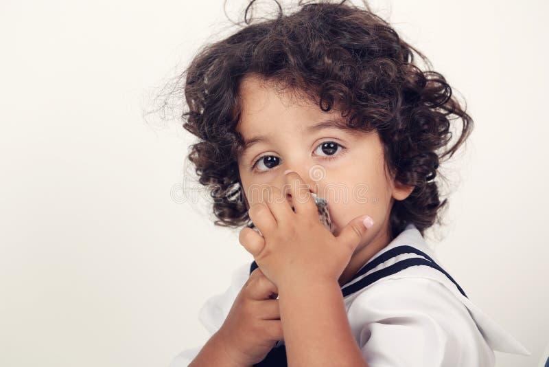 Bebê da marinha imagens de stock royalty free