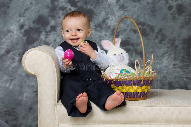 Bebê da Páscoa imagem de stock