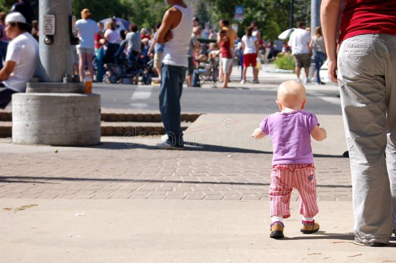 Bebê da parada imagem de stock