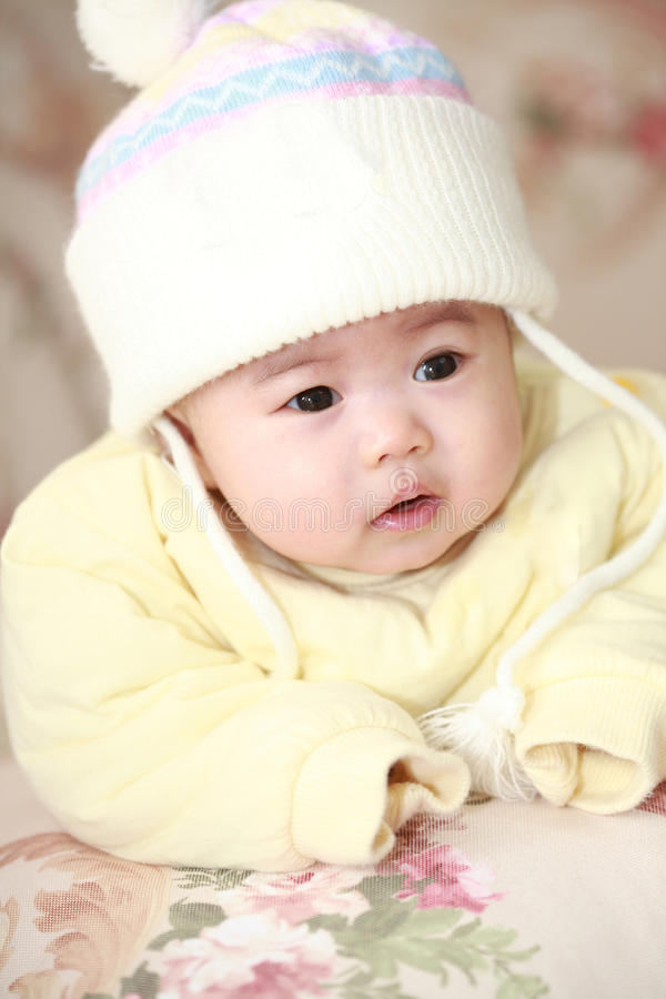 Bebê de Ásia fotos de stock royalty free