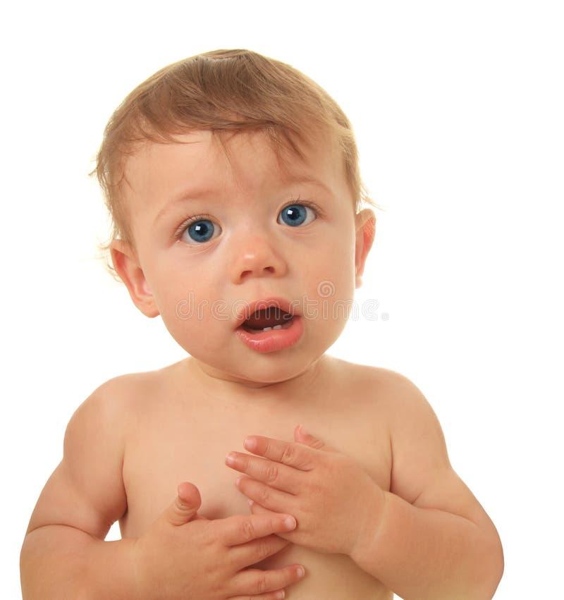 Bebê de fala fotografia de stock