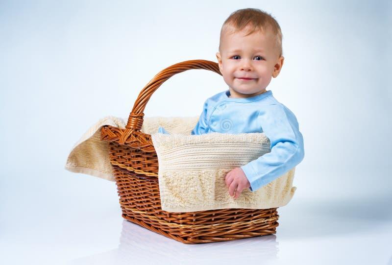 Bebê de oito meses foto de stock royalty free
