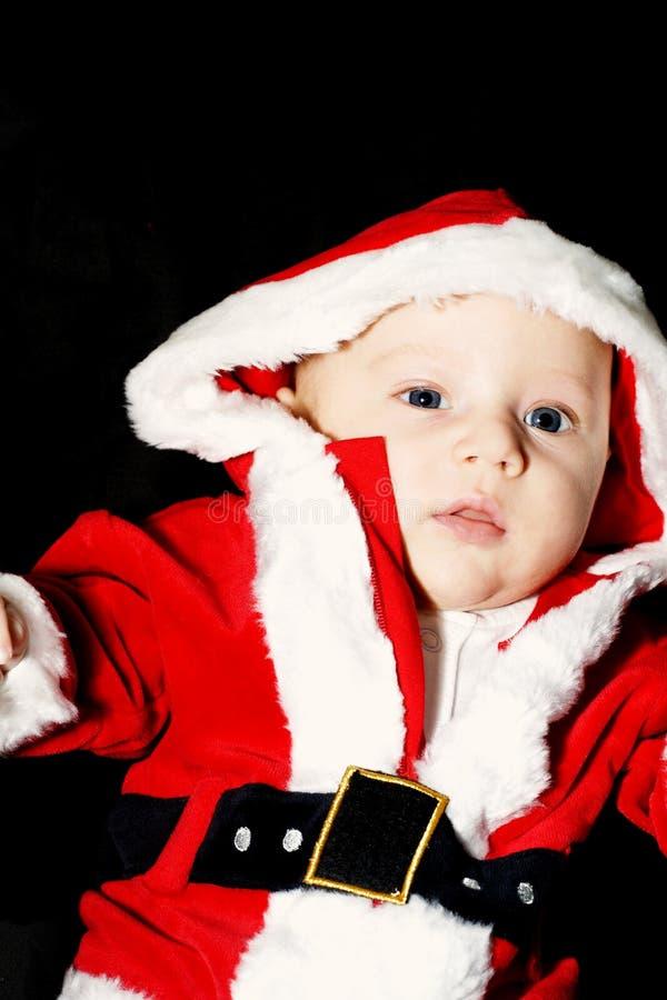 Bebê de Papai Noel imagem de stock royalty free