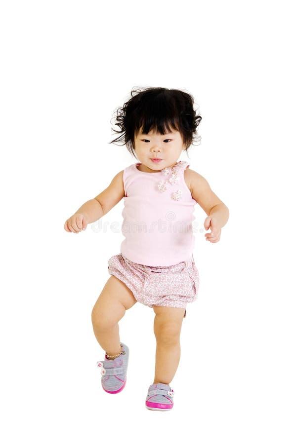Bebê de passeio fotografia de stock royalty free