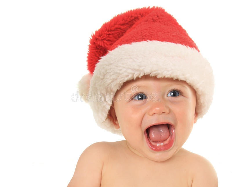 Bebê de Santa imagem de stock