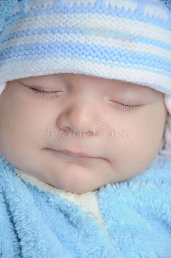 Bebê de sono imagens de stock royalty free