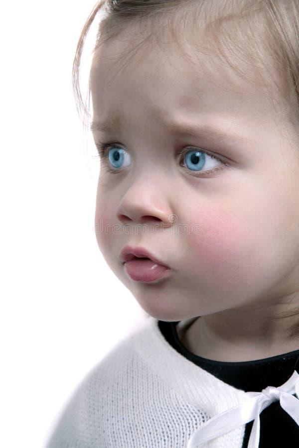 Bebê de Worrien fotos de stock
