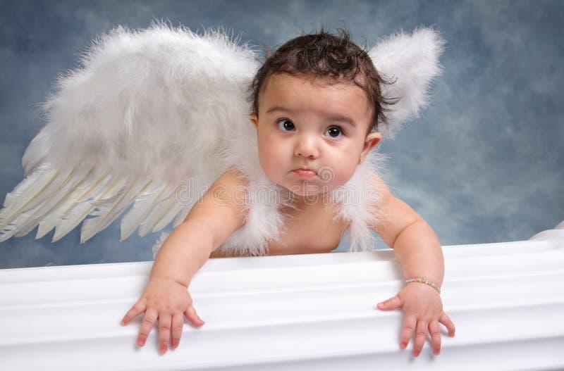 Bebê do anjo fotografia de stock royalty free