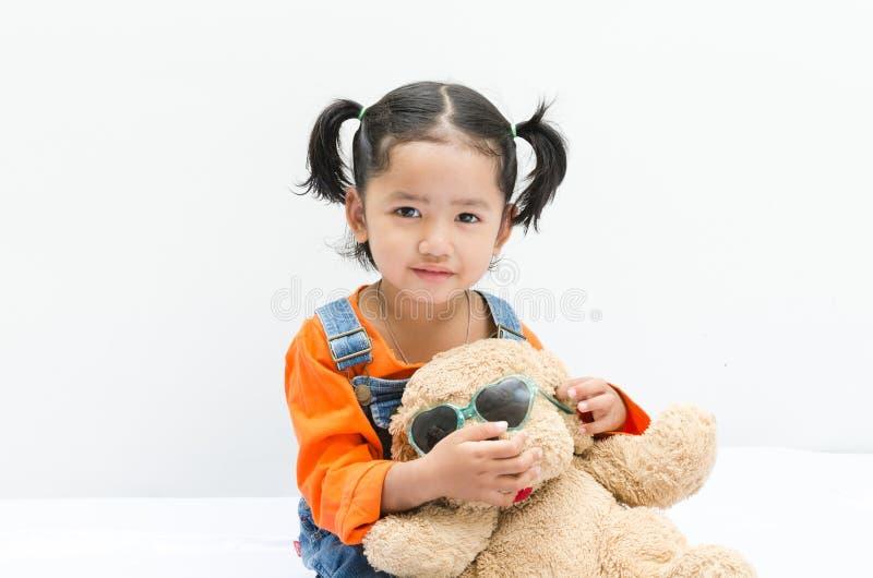 Bebê do asiático do retrato imagem de stock royalty free