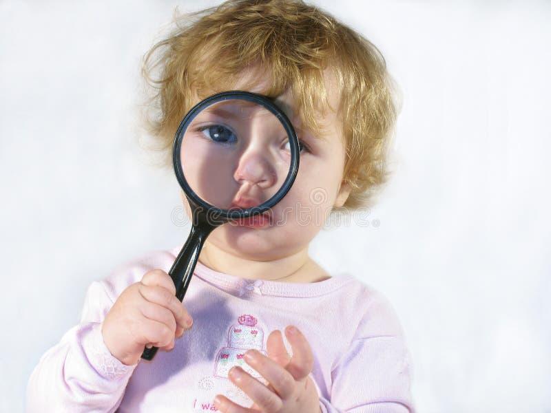 Bebê do inspector foto de stock royalty free