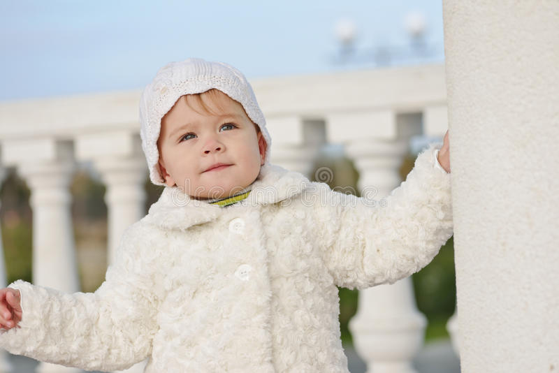 Bebê do inverno imagens de stock royalty free