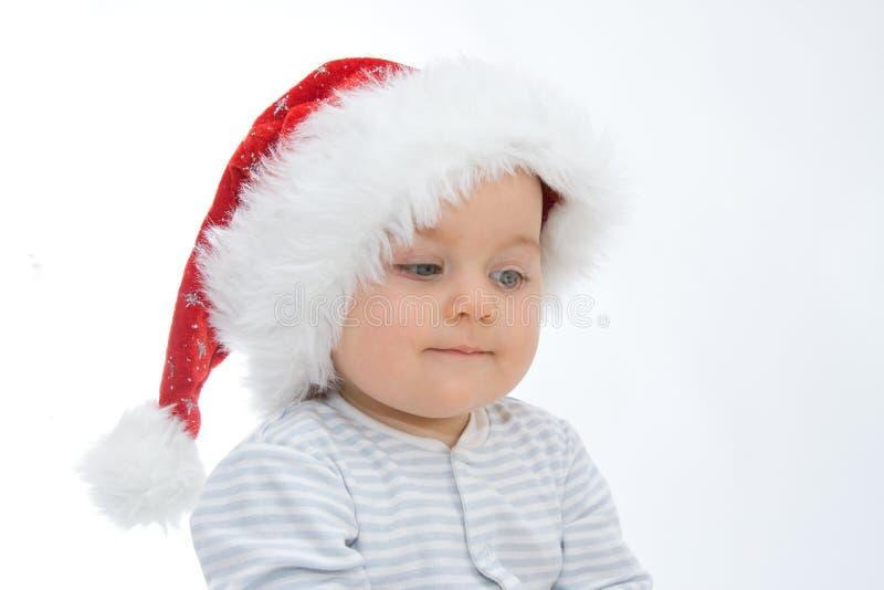 Bebê do Natal foto de stock royalty free